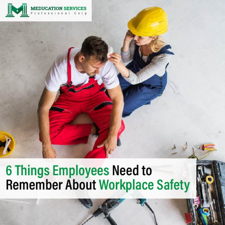 6 Things Employees Need to Remember About Workplace Safety