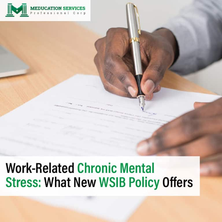 Work-Related Chronic Mental Stress: What New WSIB Policy Offers