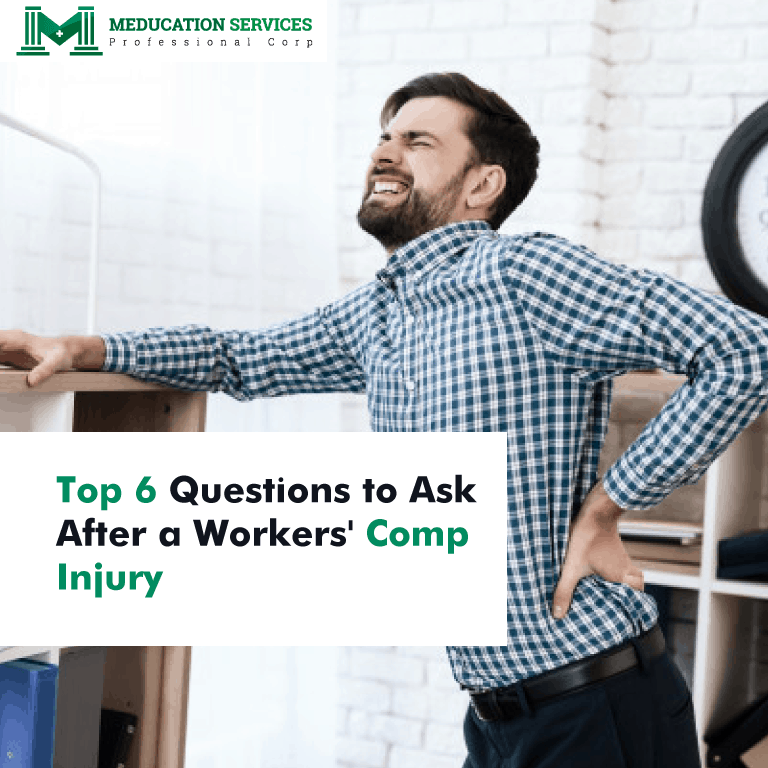 Top 6 Questions to Ask After a Workers' Comp Injury