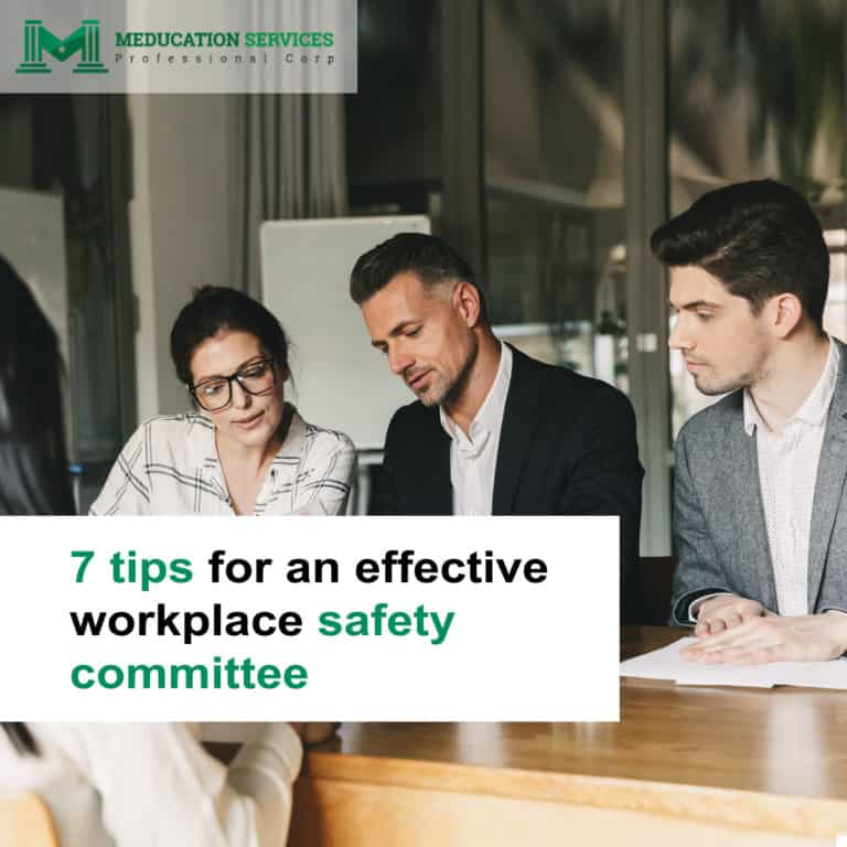 7 tips for an effective workplace safety committee