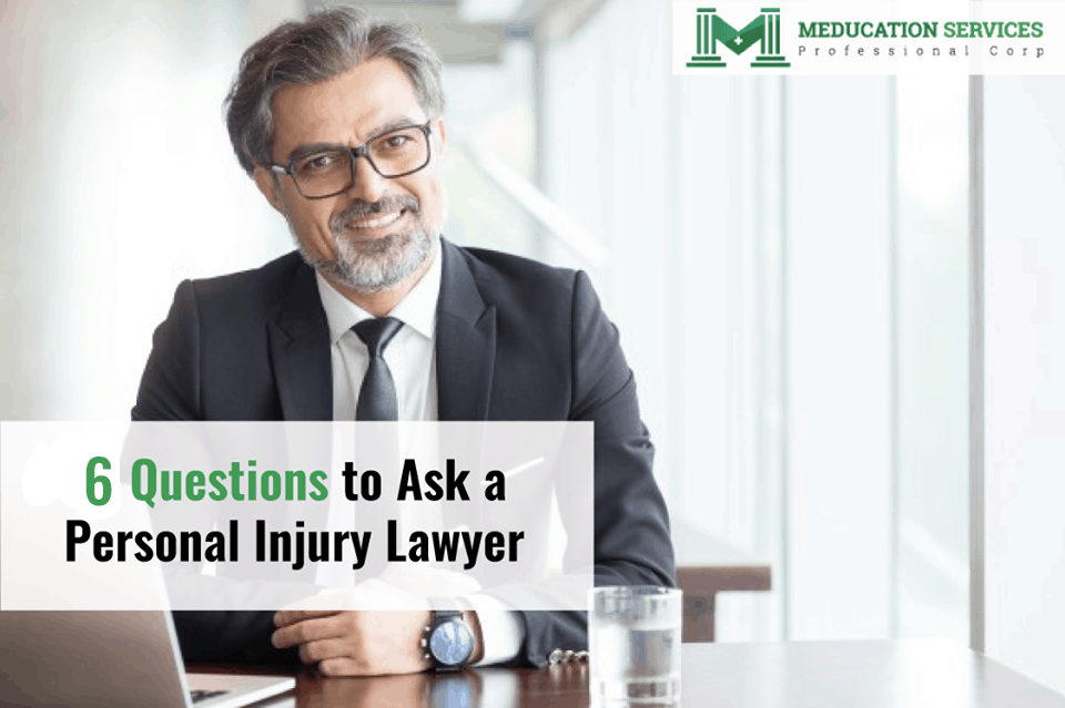 6 Questions to Ask a Personal Injury Lawyer
