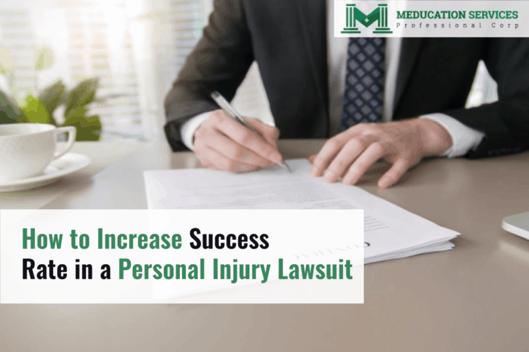 How to Increase Success Rate in a Personal Injury Lawsuit