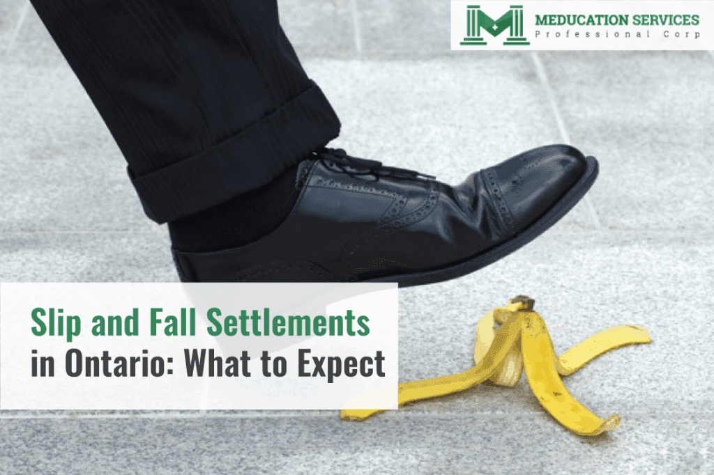 Slip and Fall Settlements in Ontario: What to Expect