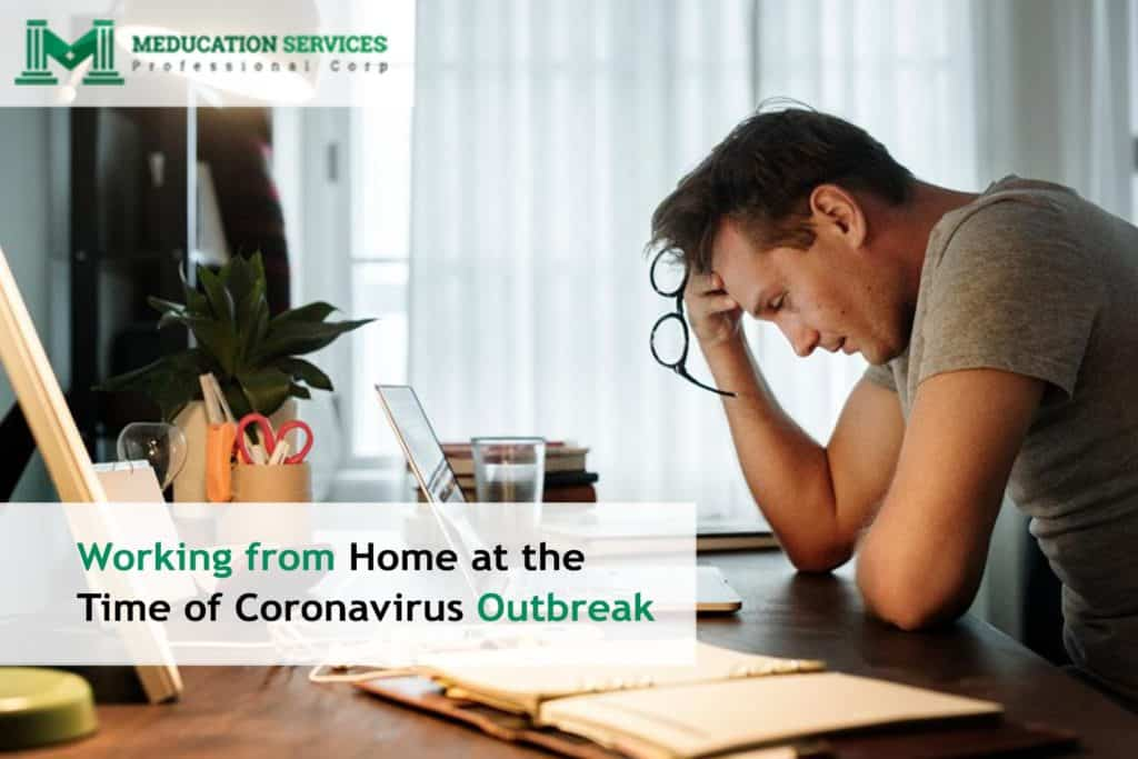 Working from Home at the Time of Coronavirus Outbreak