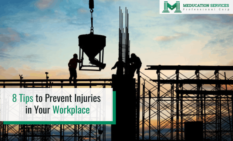 8 Tips to Prevent Injuries in Your Workplace
