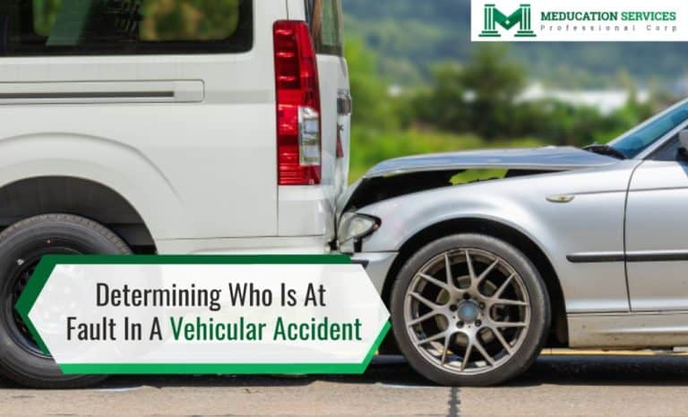 Determining Who Is At Fault In A Vehicular Accident